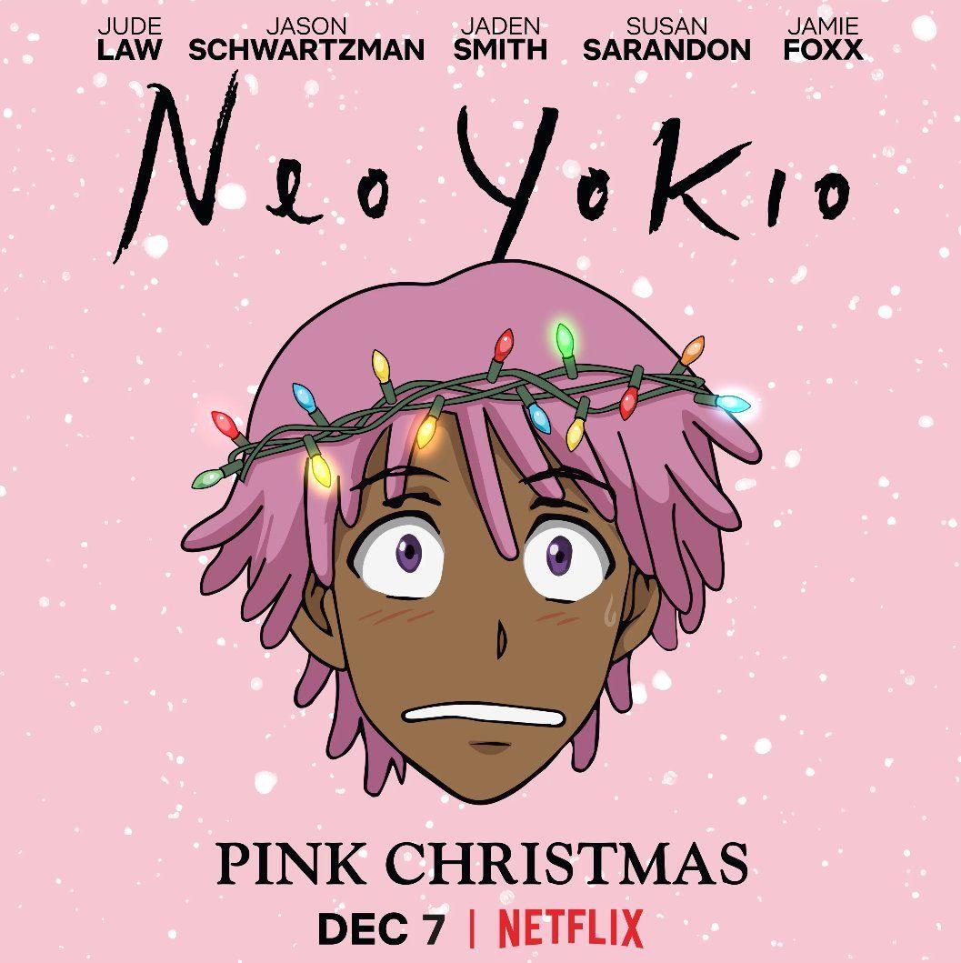 neo yokio season 2 chirstmas special pink christmas jaden smith jamie foxx