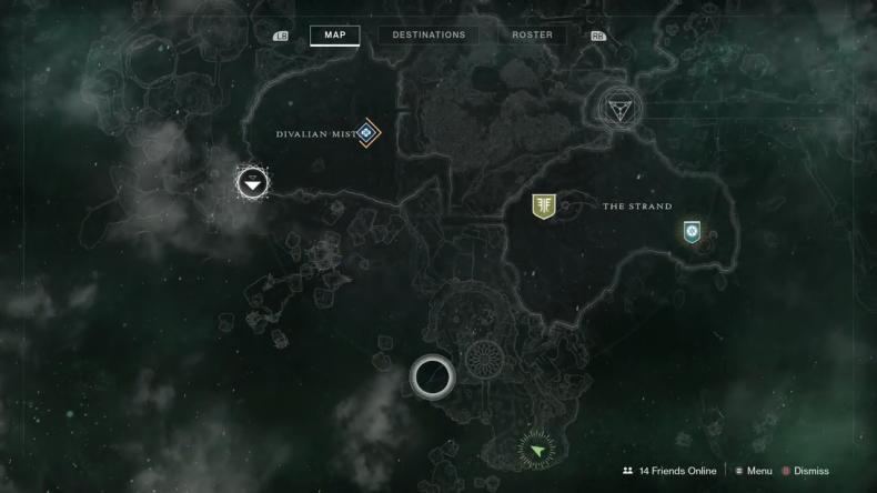 Destiny 2 Garden map