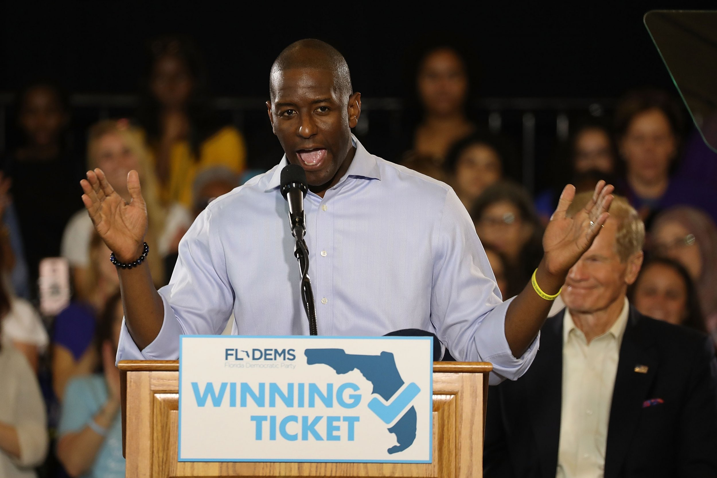 FBI Agents Gave Andrew Gillum Broadway Tickets, Contrary to What He's Past Claimed: Reports