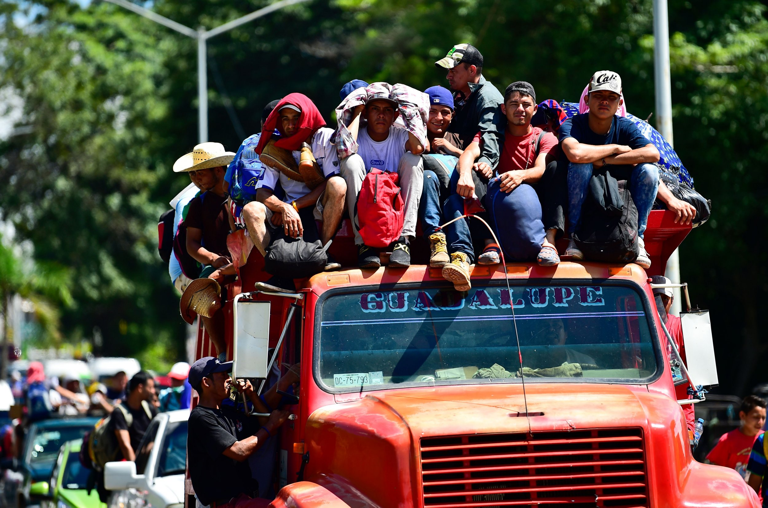 Honduran migrants