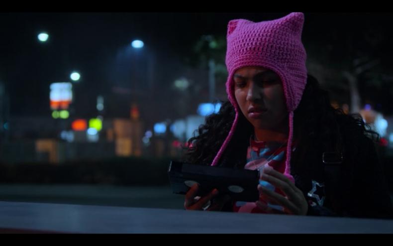 marvel runaways molly pink hat costume