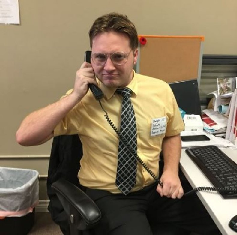 dwight schrute last minute halloween costumes the office