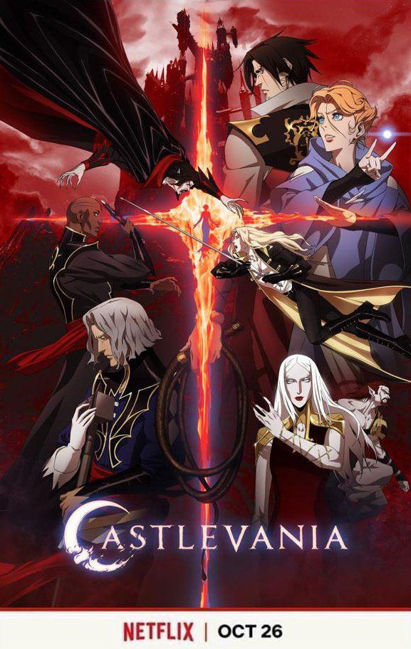 castlevania season 2 poster