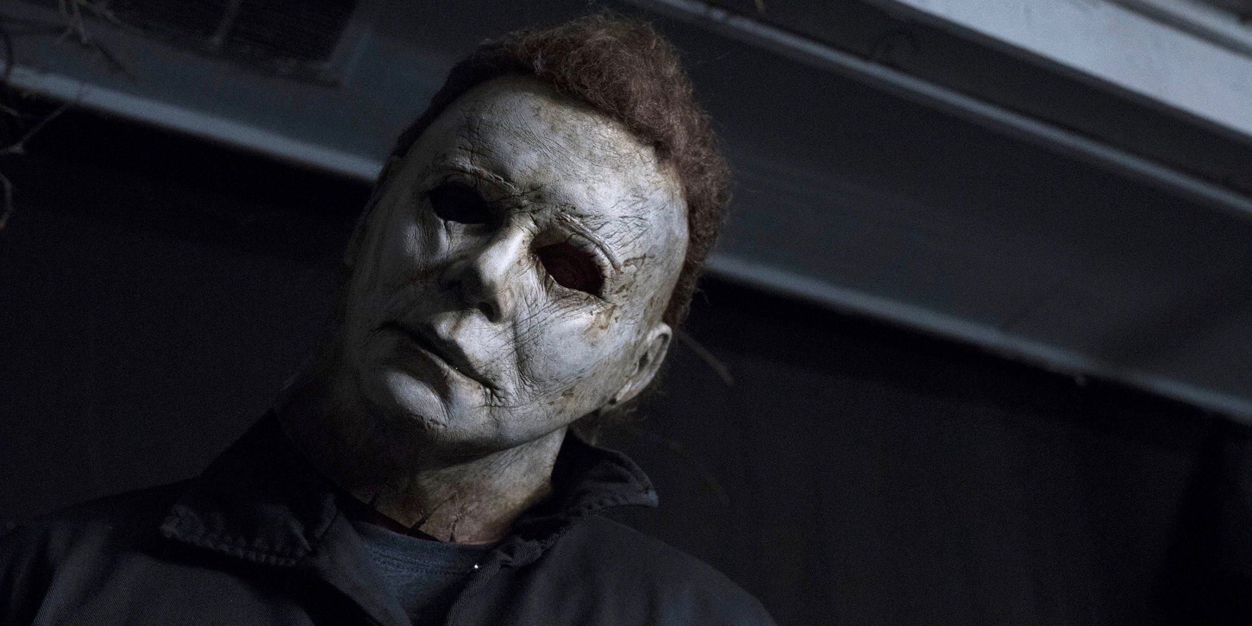 Michael Myers Face Without the Mask \u0027Halloween\u0027 2018 Killer