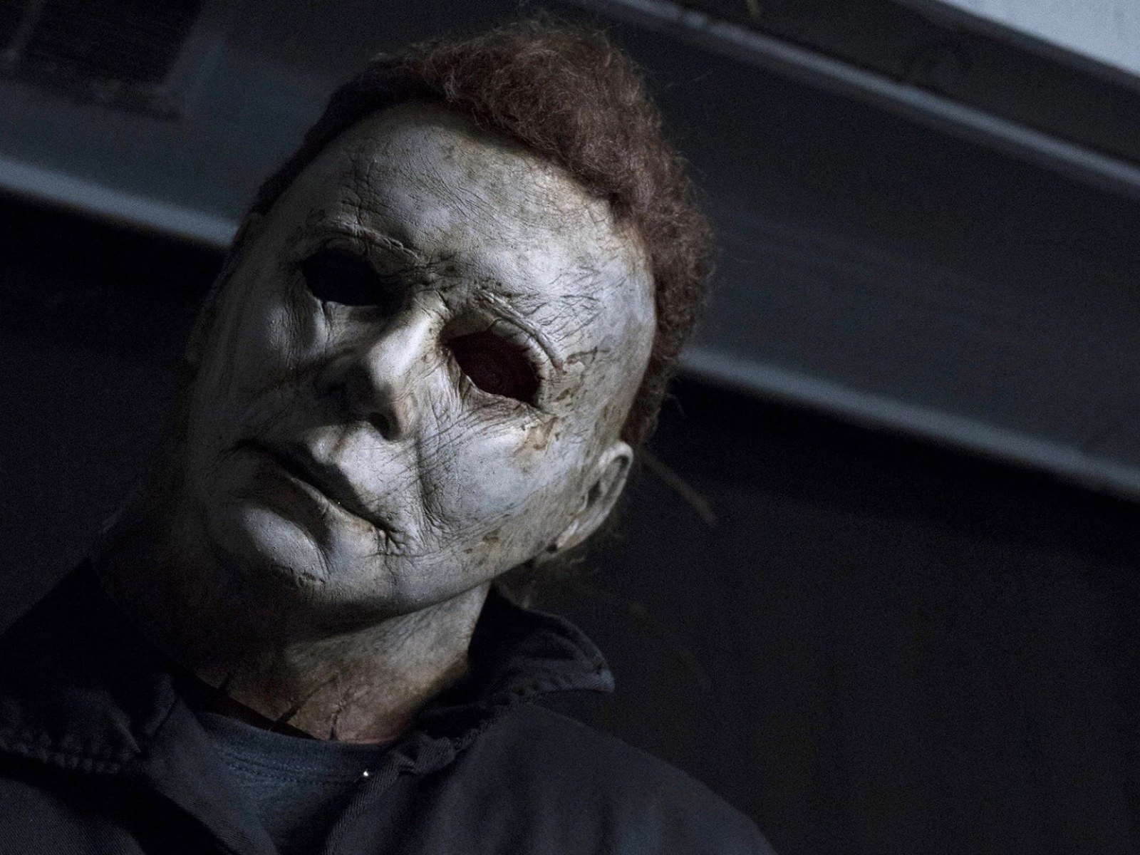 Michael Myers Face Without The Mask Halloween 2018 Killer