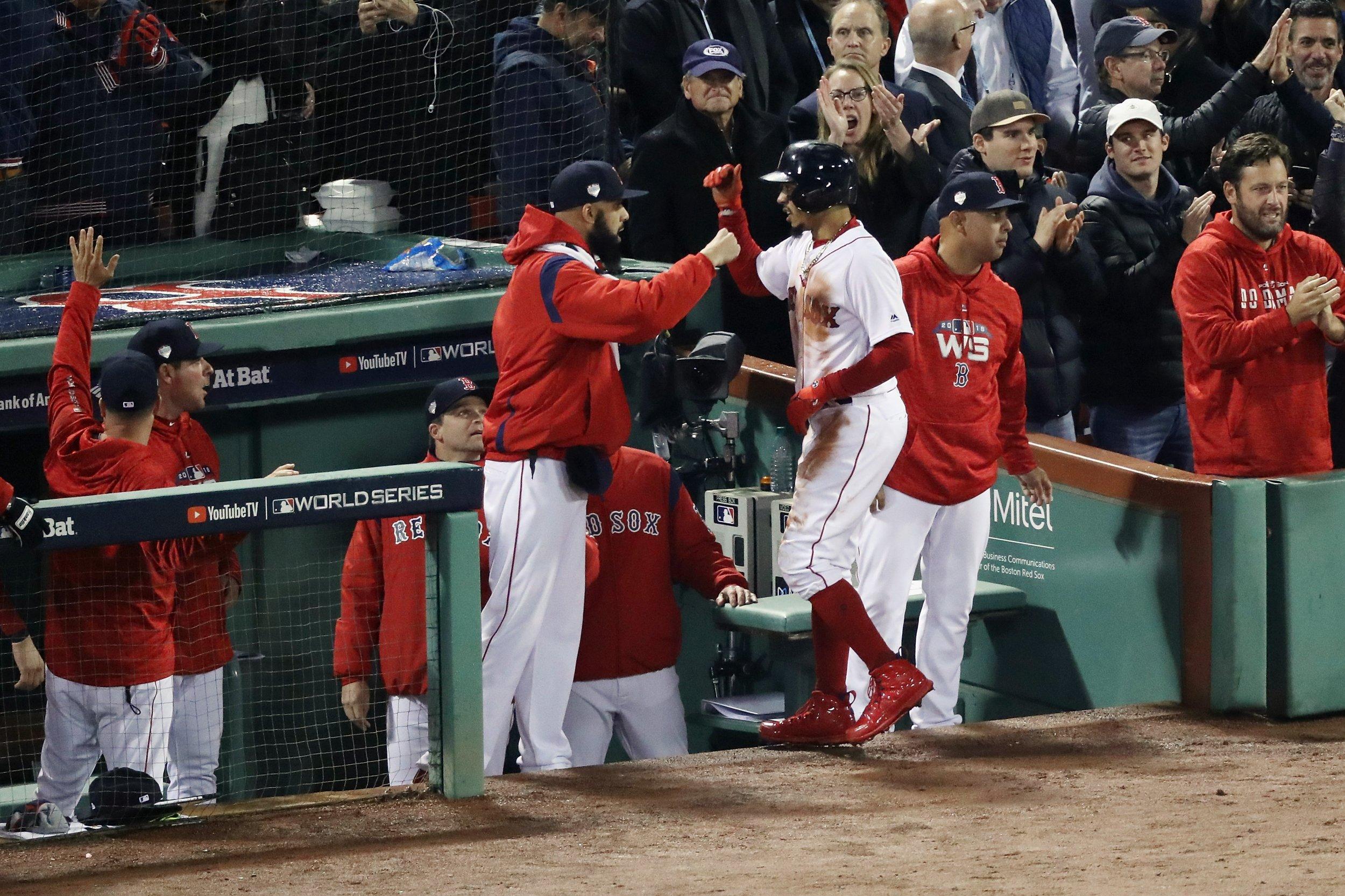 Boston Red Sox David Price, Mookie Betts