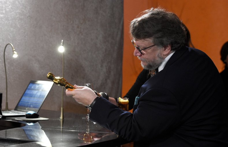 guillermo del toro shape of water