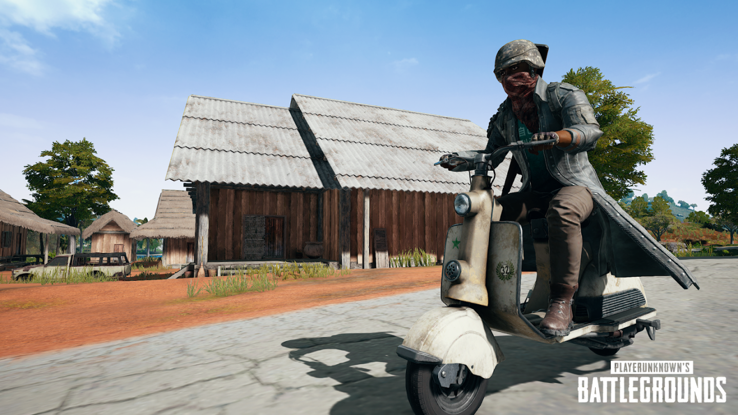 PUBG Scooter xbox update