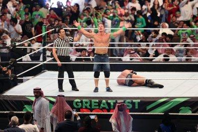 wwe crown jewel, saudi arabia, john cena