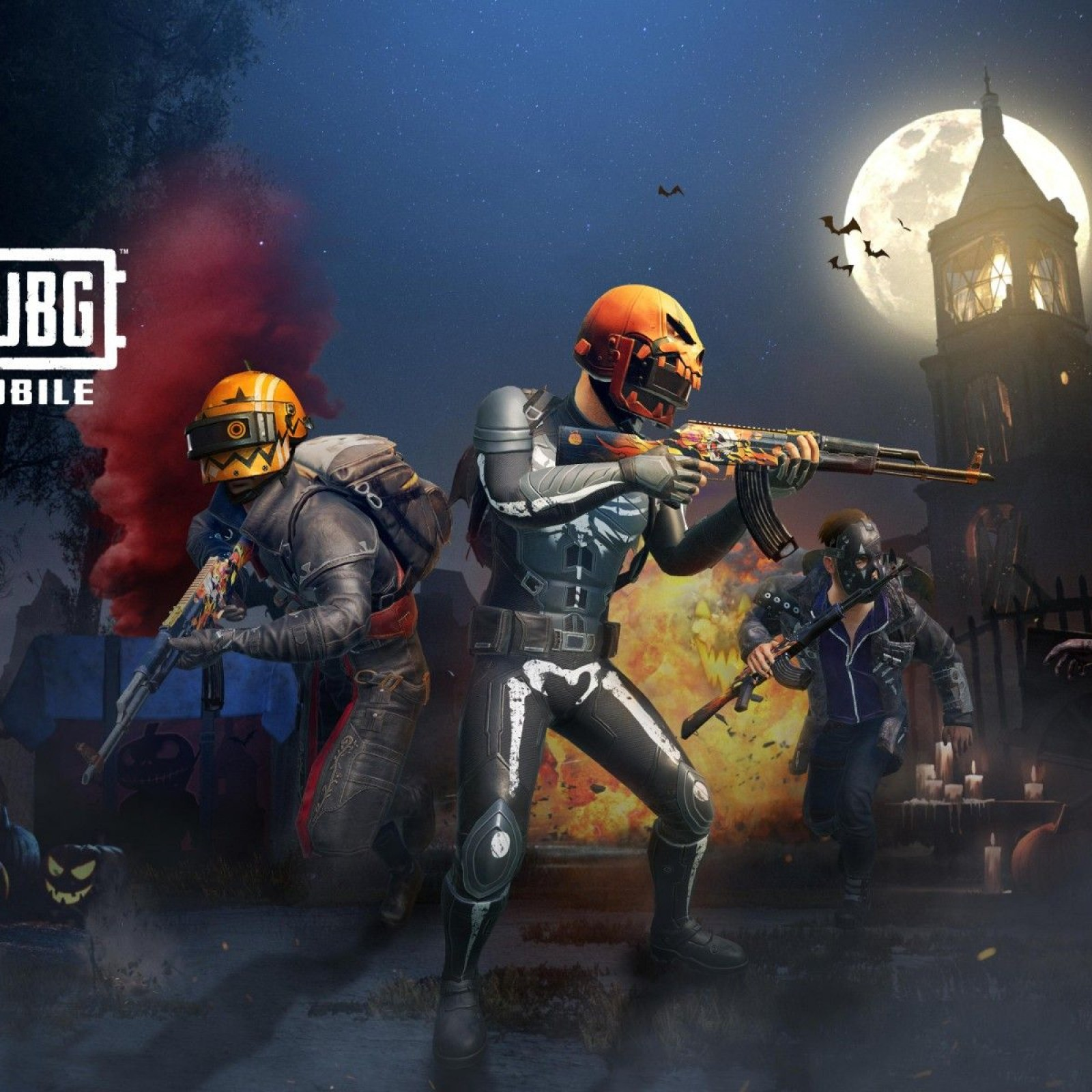 Pubg Mobile Update 090 Adds Halloween Skins Night Mode