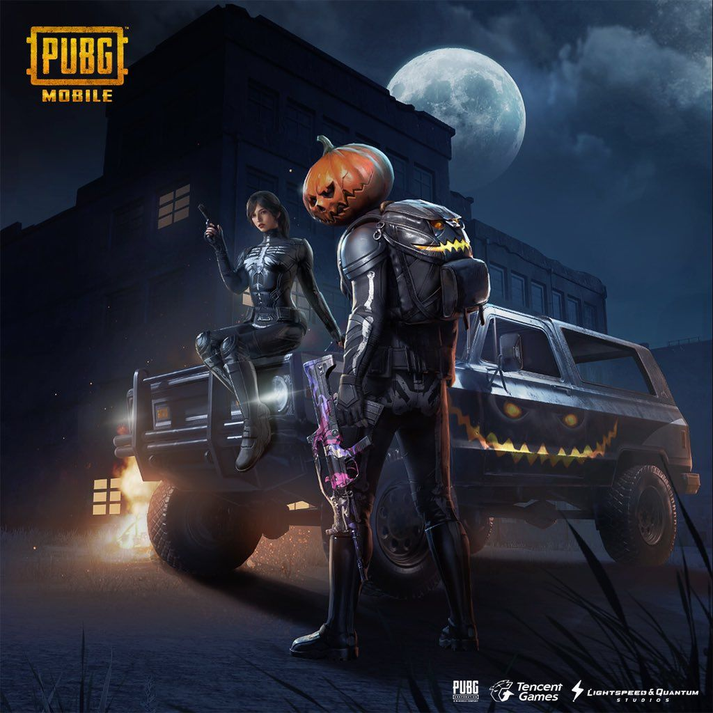Pubg Mobile Halloween Wallpaper Mobile Desktop Wallpaper