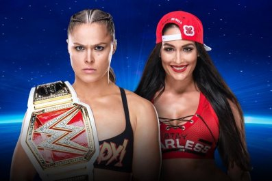 ronda rousey vs nikki bella evolution