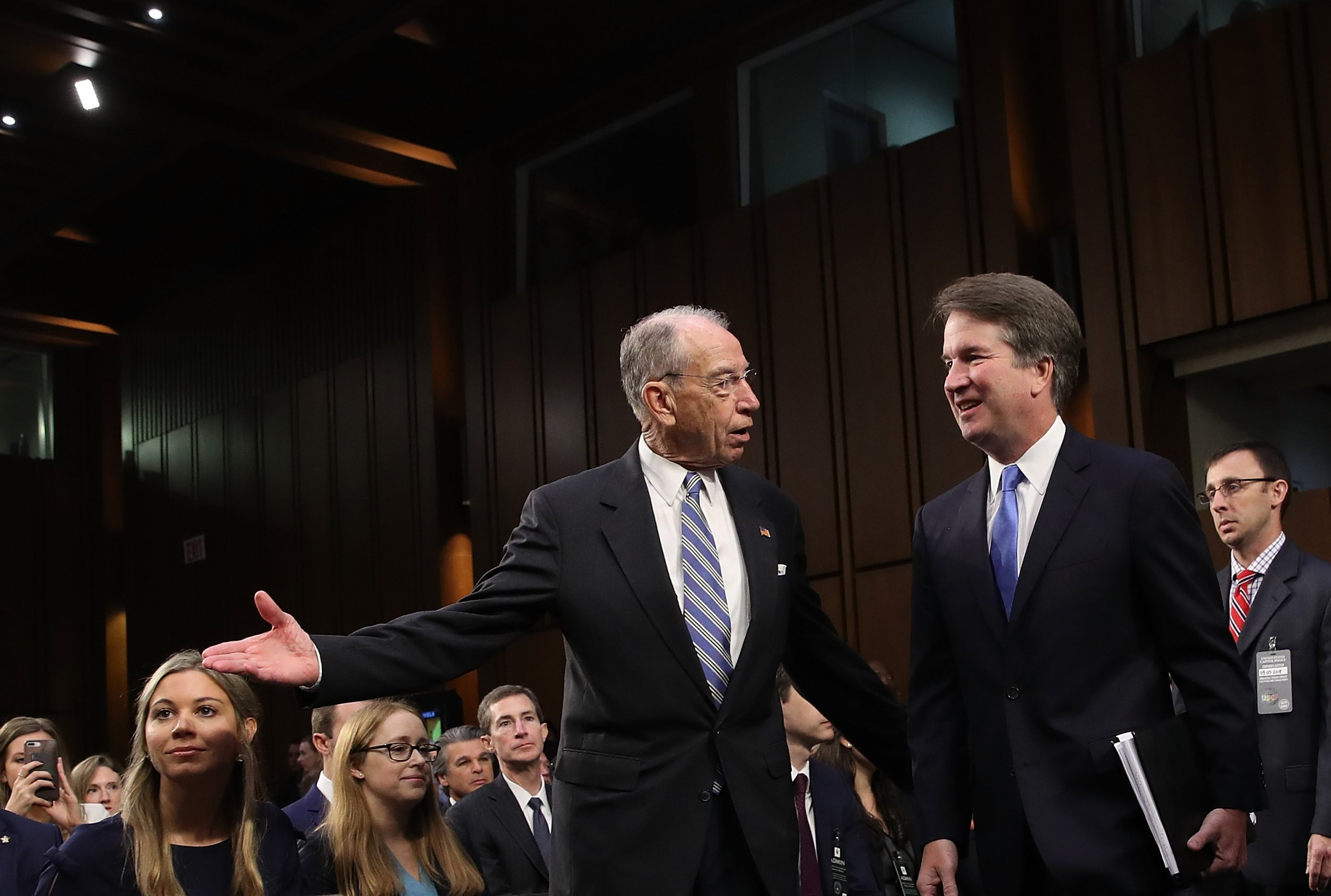 Senate Judiciary Chairman Kavanaugh Accuser Julie Swetnick, Michael Avenatti, Investigation