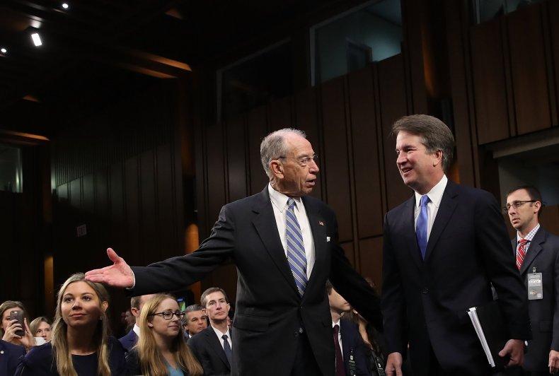 Senate Judiciary Chairman Kavanaugh Accuser Julie Swetnick, Michael Avenatti, Investigation