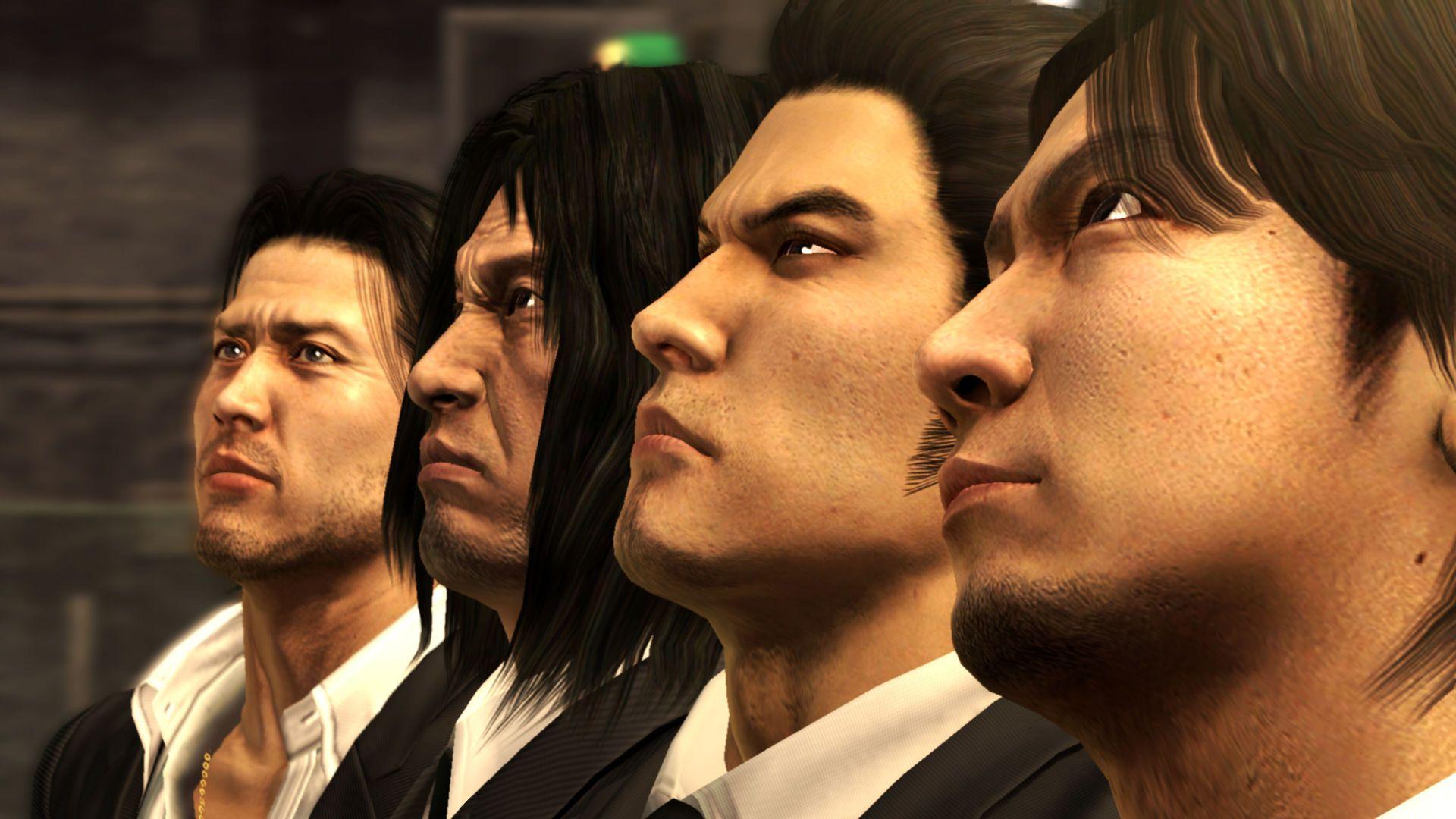 Yakuza 4 japan characters