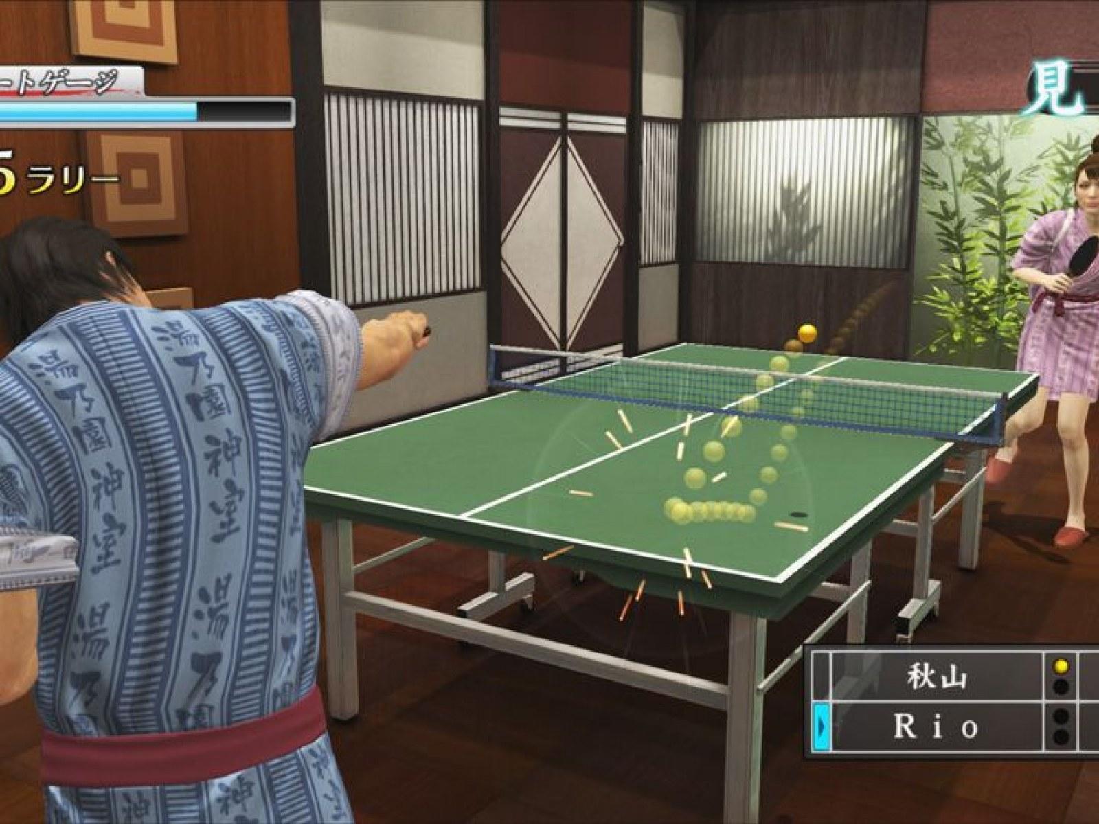 Yakuza 4' Serves Up a Ramen Shop Shootout, Onsen Minigame and Ping Pong