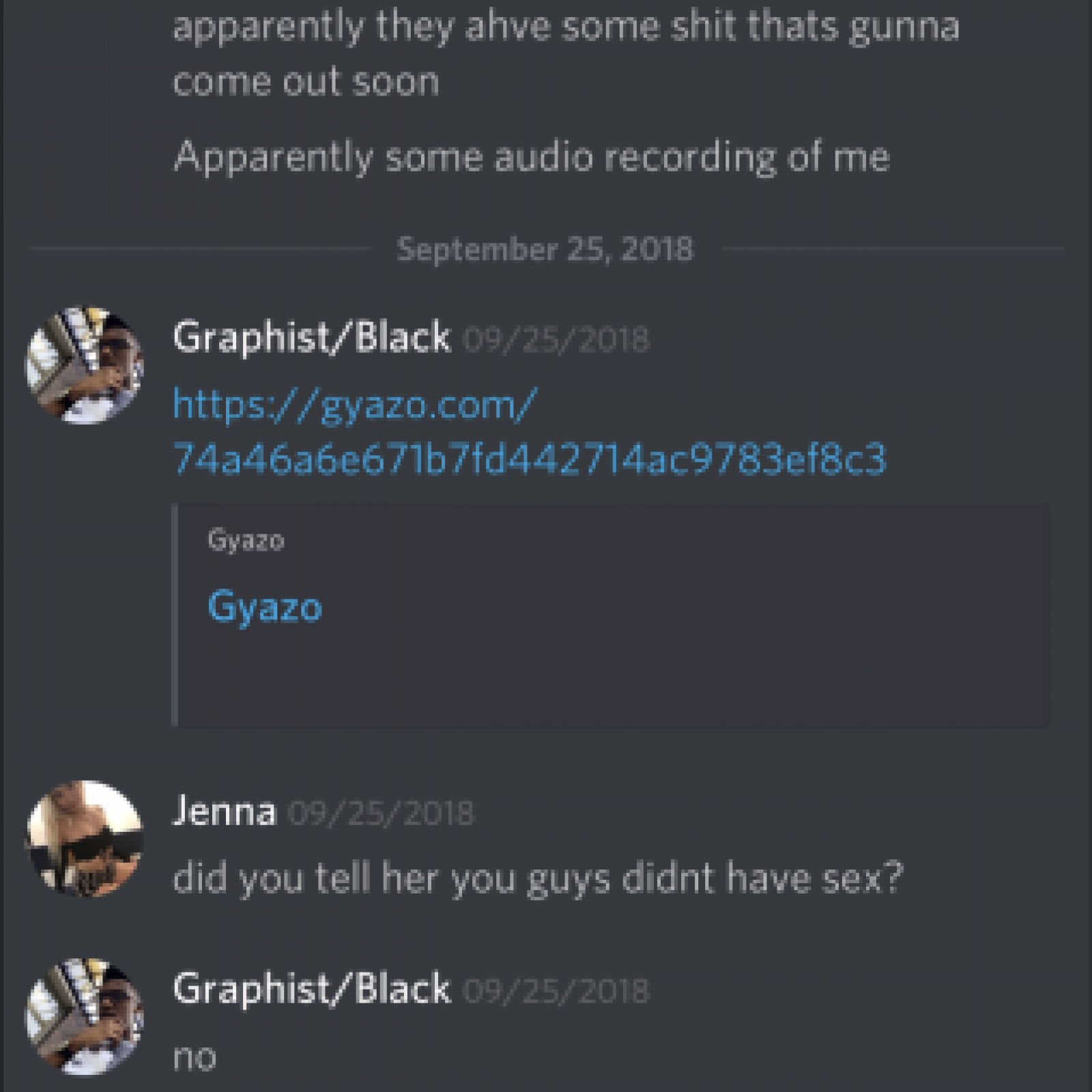 Graphist/Black Accused of Sexual Misconduct as Twitch