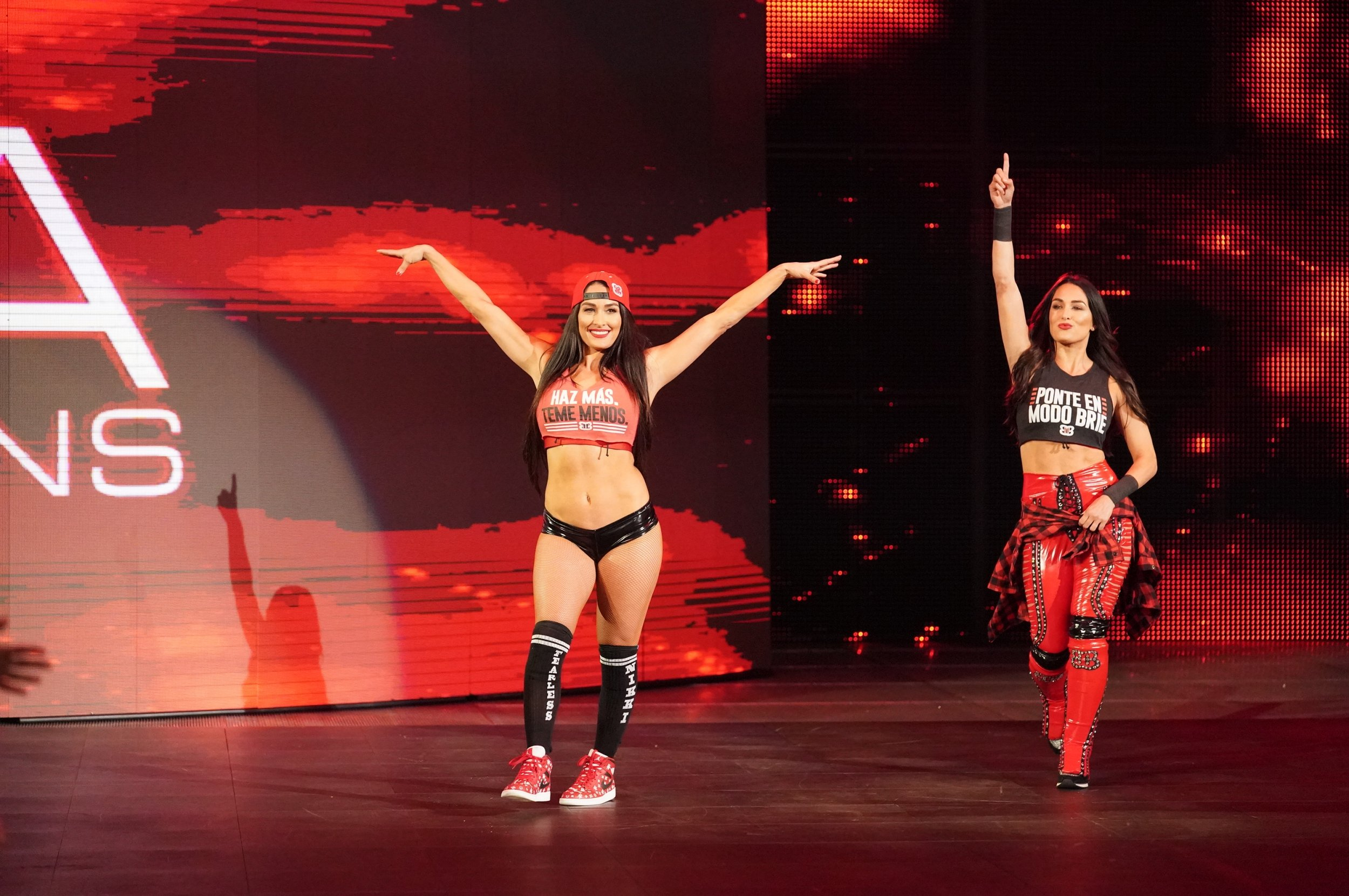 Nikki brie bella wwe raw