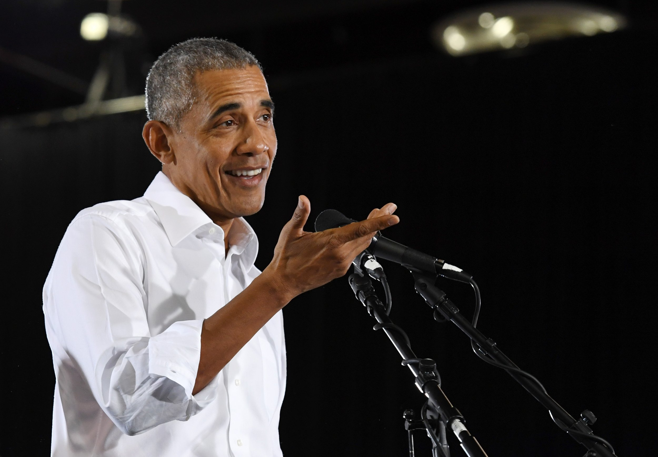 Barack Obama Says Trump Administration, Republicans Have Faced 'Enough Indictments to Field a Football Team'