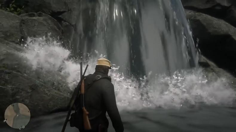 Red Dead Elisyan waterfall