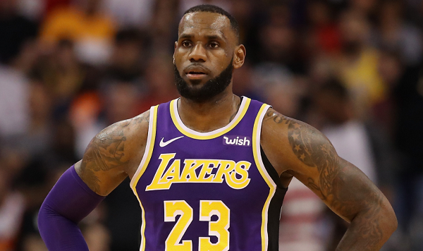 eee66a70bc42 LeBron James Wore a Beto O Rourke Hat at Lakers Game Against San Antonio  Spurs