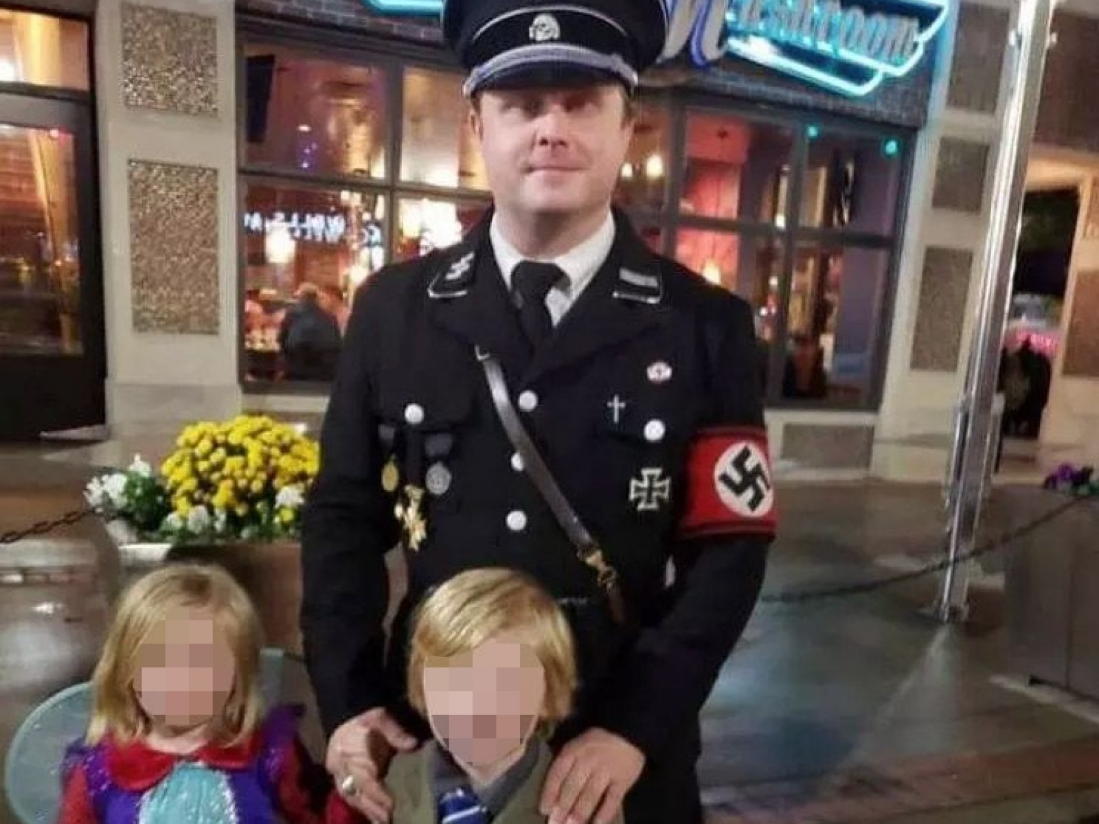 A Father Dressed His Son As Hitler For Halloween And Was