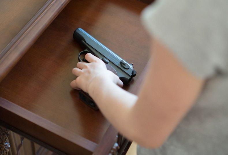 gun-child-firearm-stock