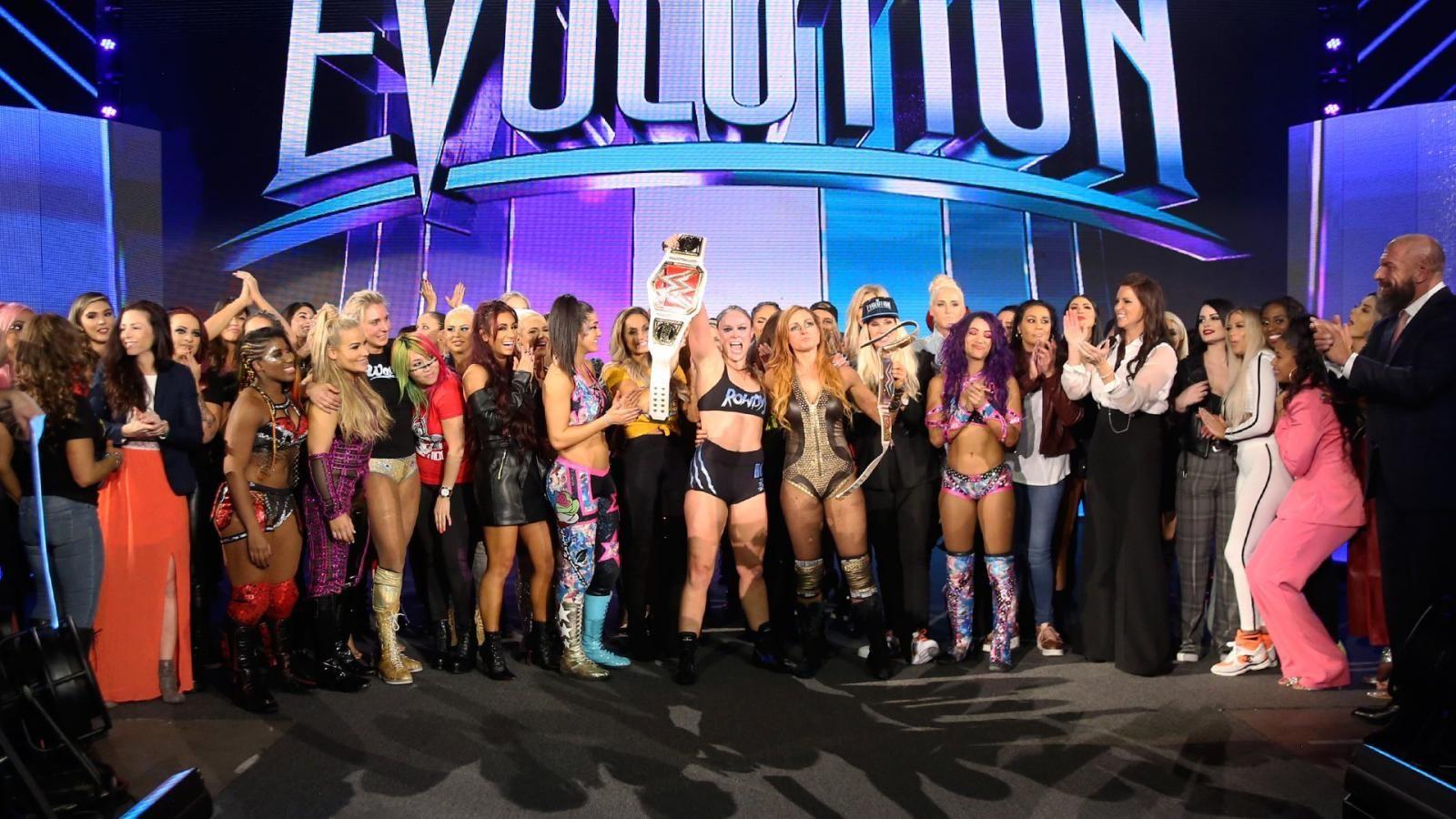 wwe evolution final