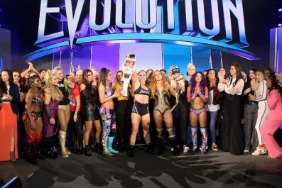wwe evolution final