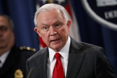 Religious Leaders Interrupt Jeff Sessions Speech on Religious Liberty: 'I Call Upon You to Repent'