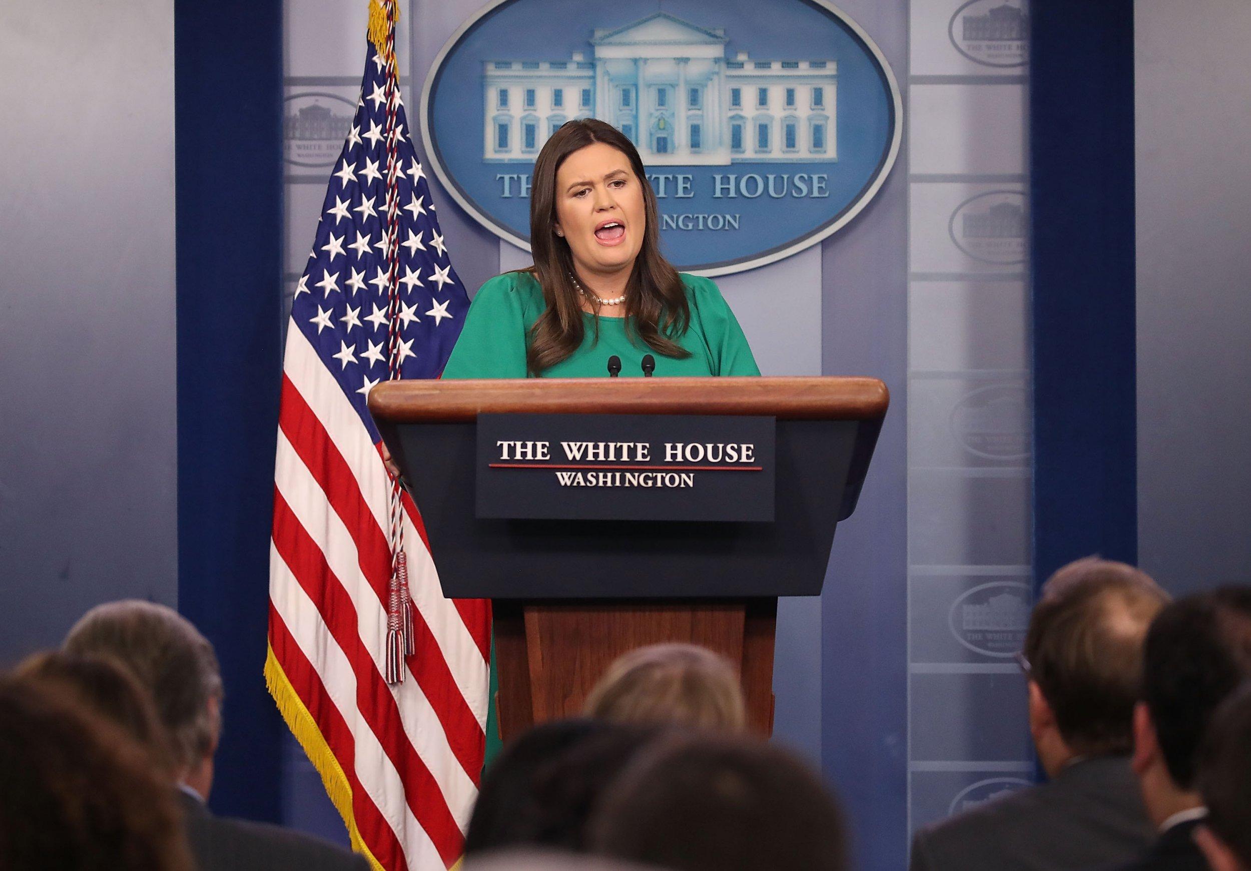 sarah huckabee sanders popular vote donald trump