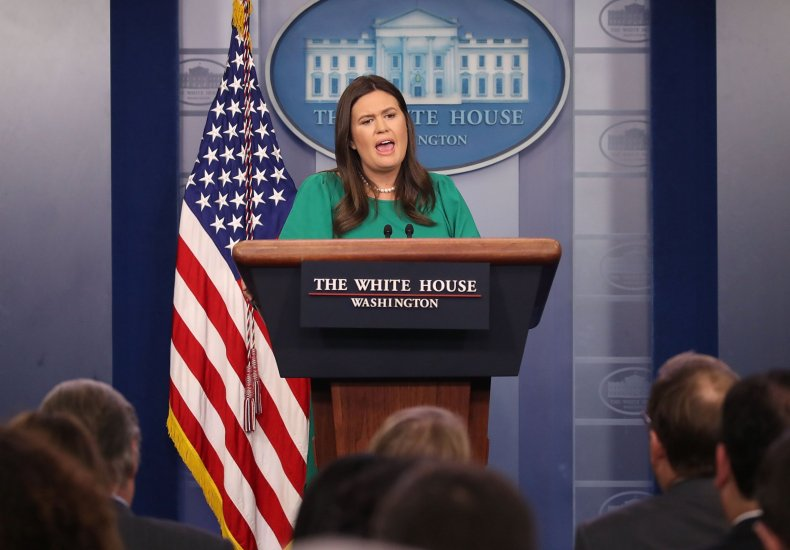 sarah huckabee sanders popular vote donald trump