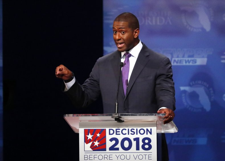 Andrew Gillum Fires Back at Donald Trump After Fox News Interview: 'Never Wrestle With a Pig'