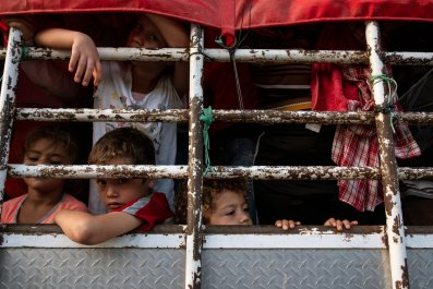 migrant caravan, trump administration, number
