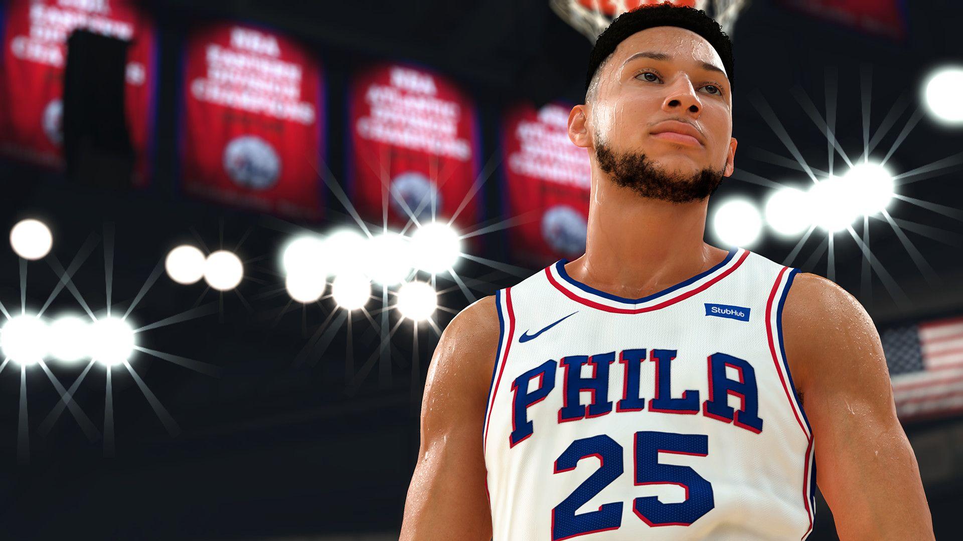 NBA 2K19 Ben Simmons patch 5