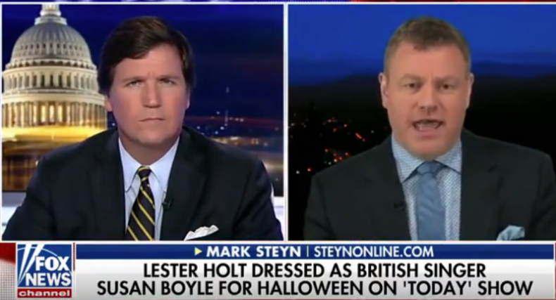 Tucker Carlson Mark Steyn cowards