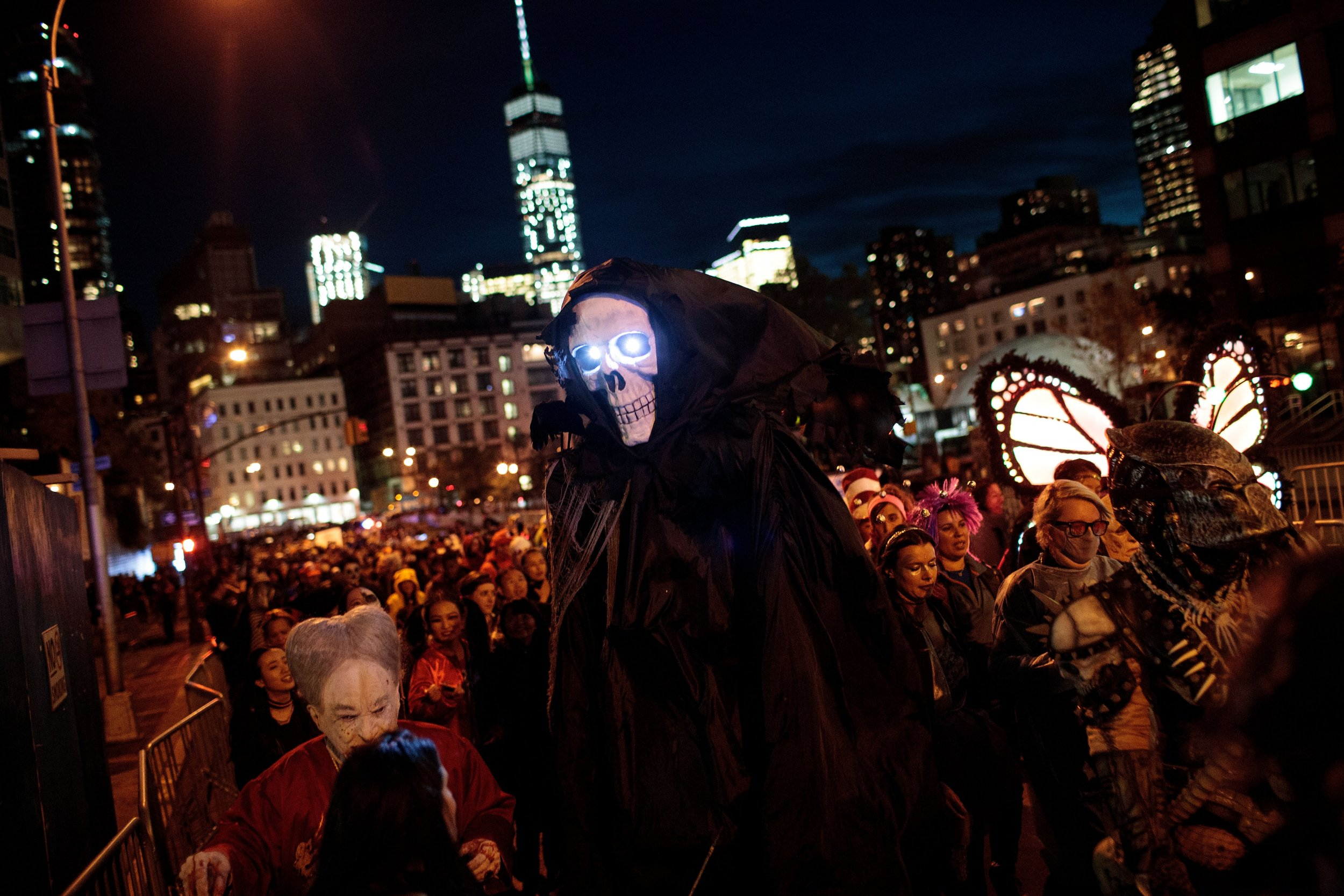 Nyc Halloween Parade 2020 Map NYC Village Halloween Parade 2018: Route Map, Viewing Spots and TV