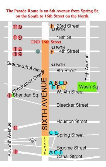 NYC Village Halloween Parade 2018: Route Map, Viewing Spots ...