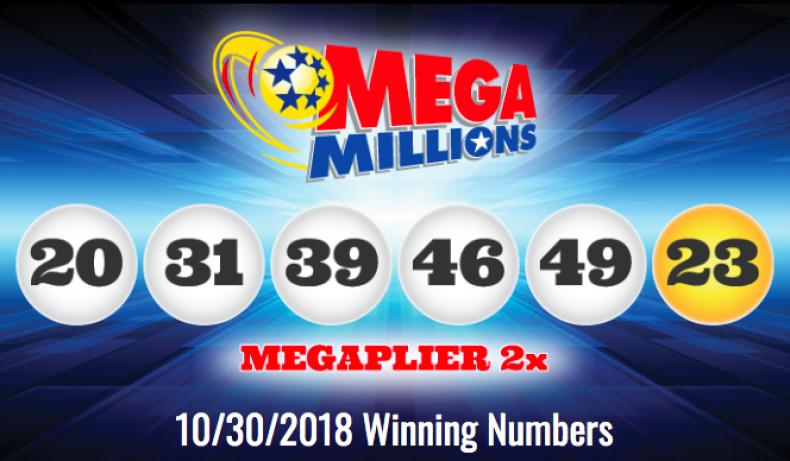 Mega Millions 10-30-18