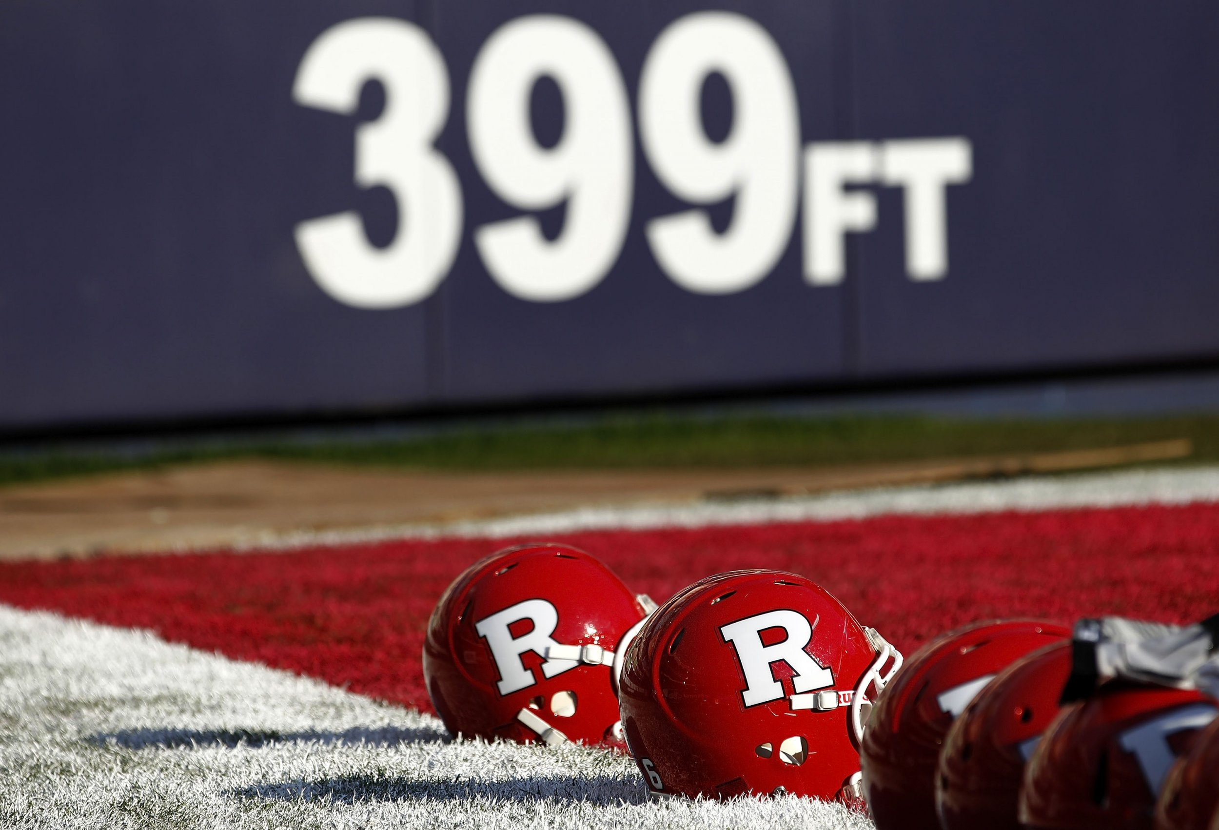Rutgers football helmets