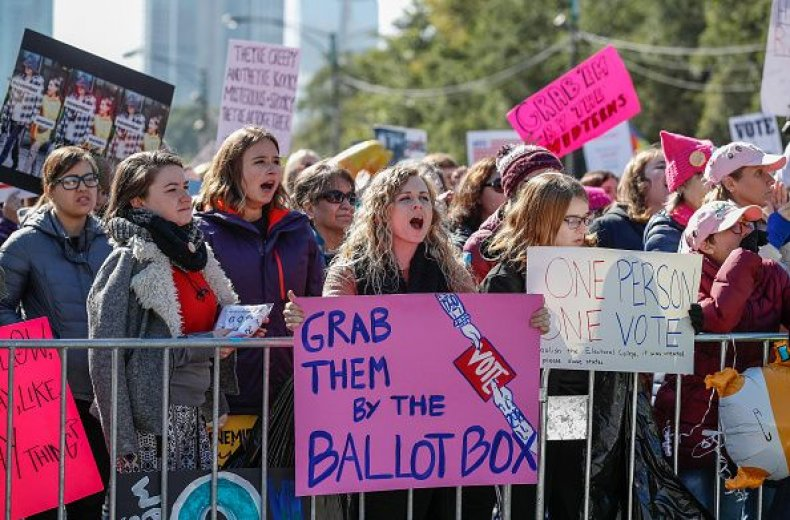 midterms election forecast, women vote