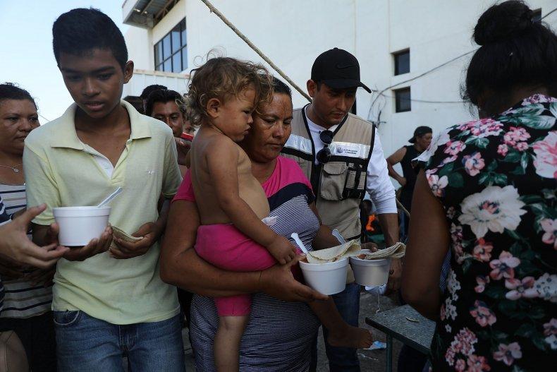 migrant caravan santiago nilitpec