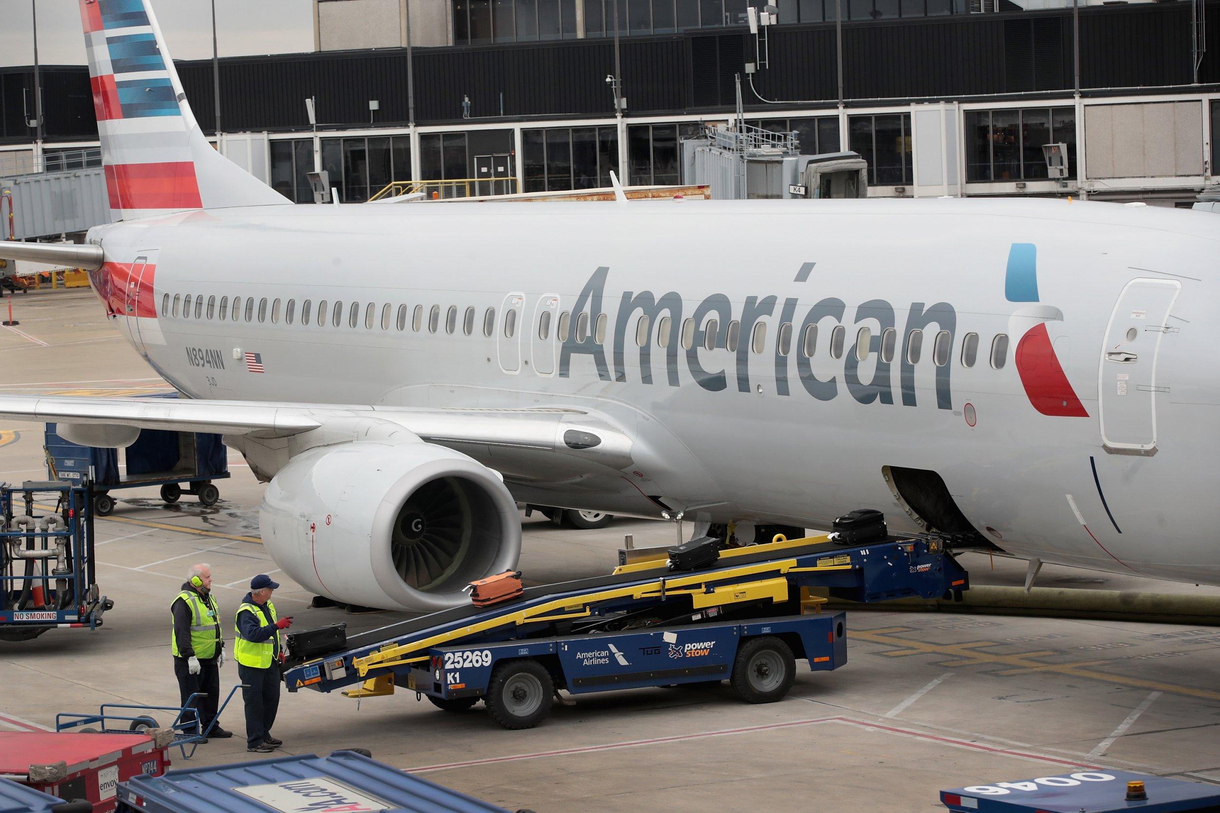 American Airlines aricraft