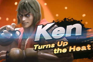 ken street fighter smash