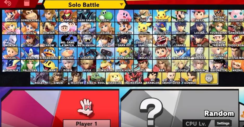 did you ever think smash bros would reach a roster size of 70