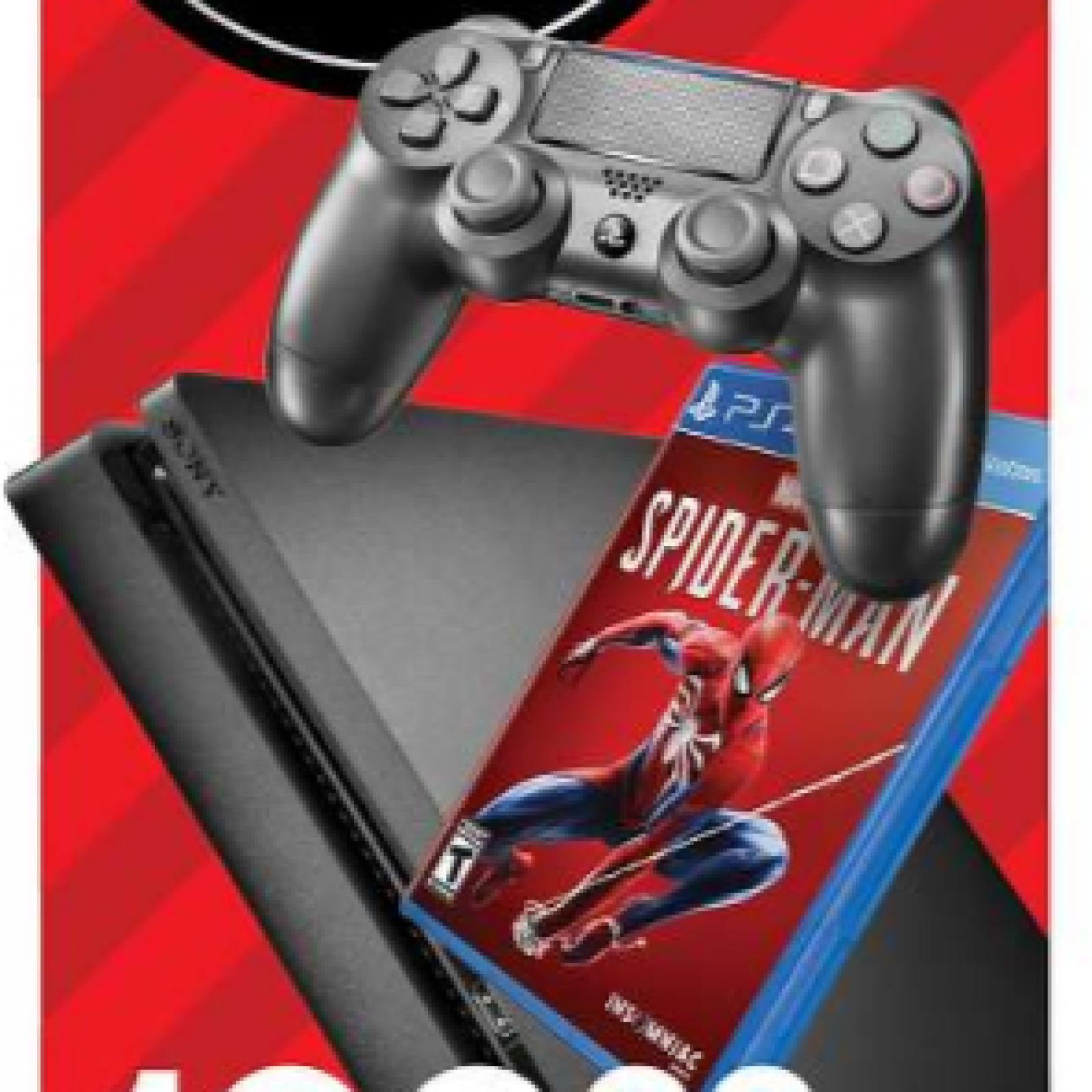 Black Friday PS4 Deals: 1TB PS4 Slim 'Spider-Man' Bundle