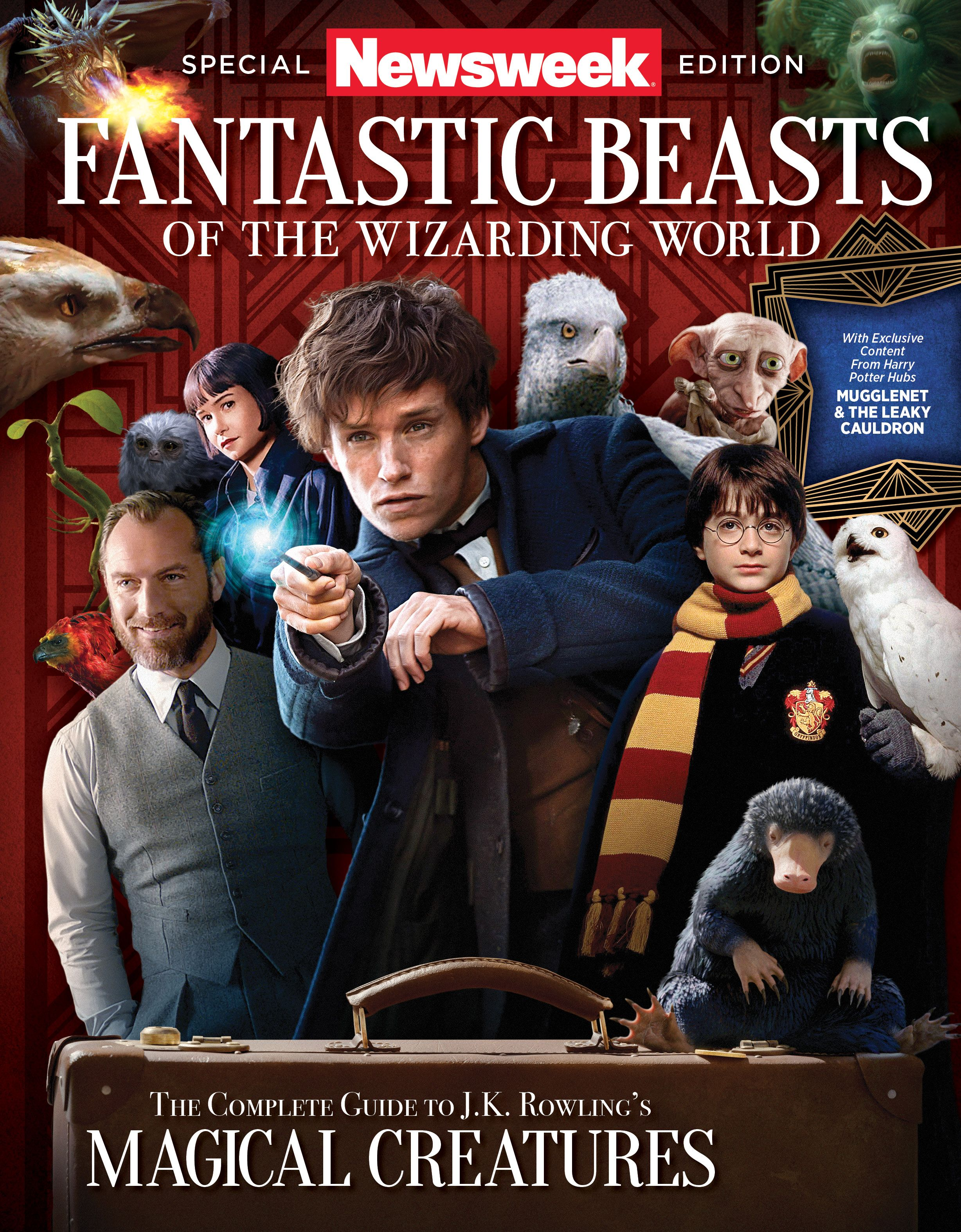 Fantastic Beasts cover