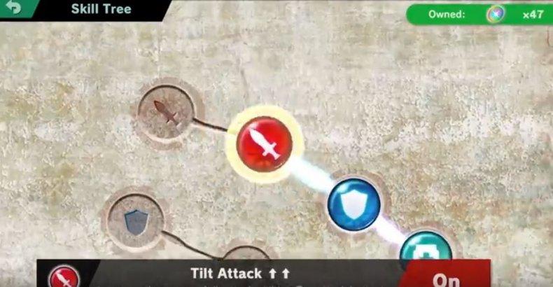 smash ultimate skill tree