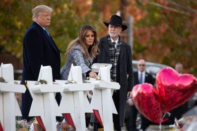 Rabbi Jeffrey Myers Donald Trump Pittsburgh