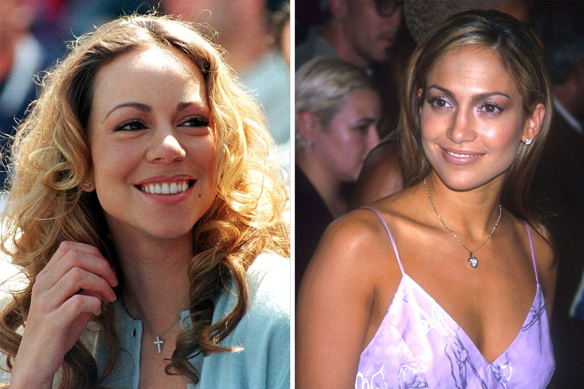 c8b3528c738e Mariah was asked about the rising pop star J-Lo in an interview with a  German television network in 2000
